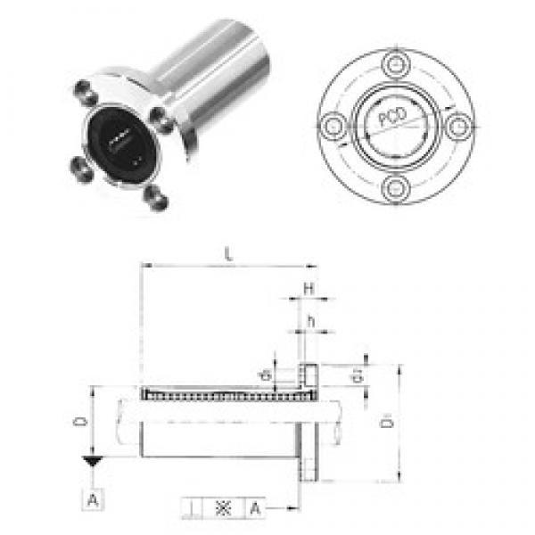 Samick LMEF16LUU linear bearings #3 image