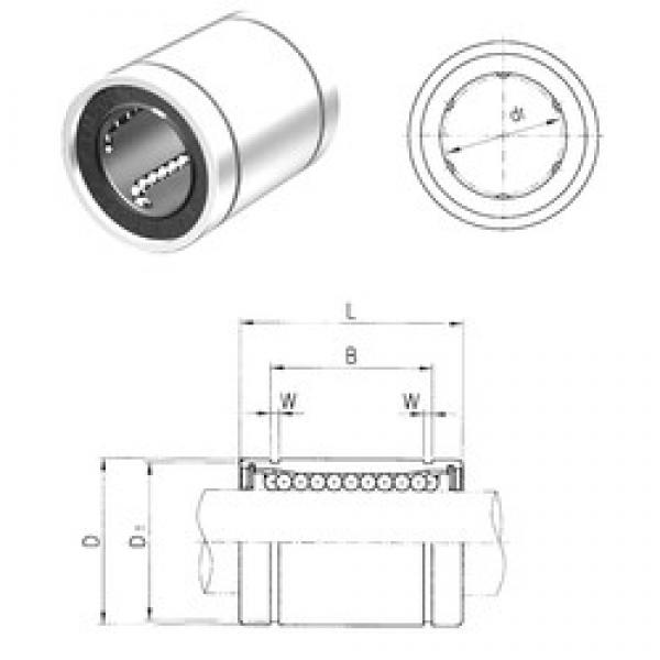 20 mm x 32 mm x 31,5 mm  Samick LME20 linear bearings #3 image