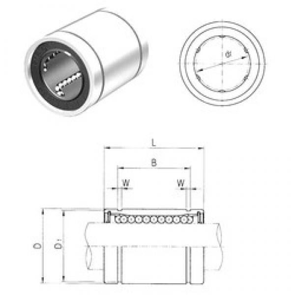 13 mm x 23 mm x 23 mm  Samick LM13UU linear bearings #3 image