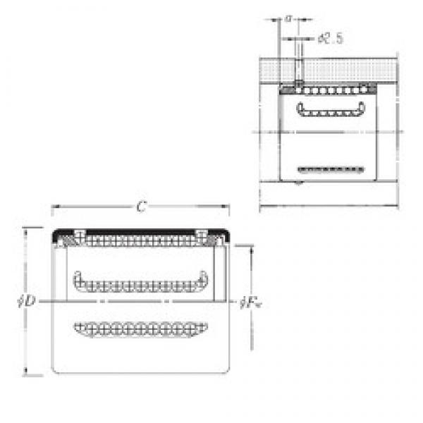 NTN KH2540LL linear bearings #3 image