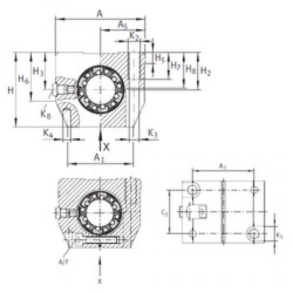 INA KGNS 40 C-PP-AS linear bearings #3 image