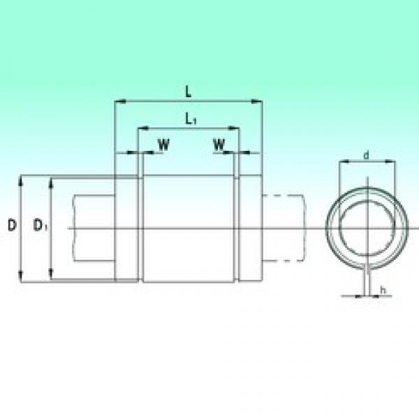 NBS KBS60125-PP linear bearings #3 image