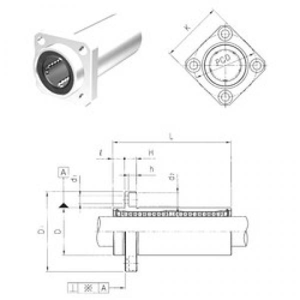 Samick LMKP25LUU linear bearings #3 image