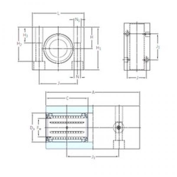 SKF LTCD 50-2LS linear bearings #3 image