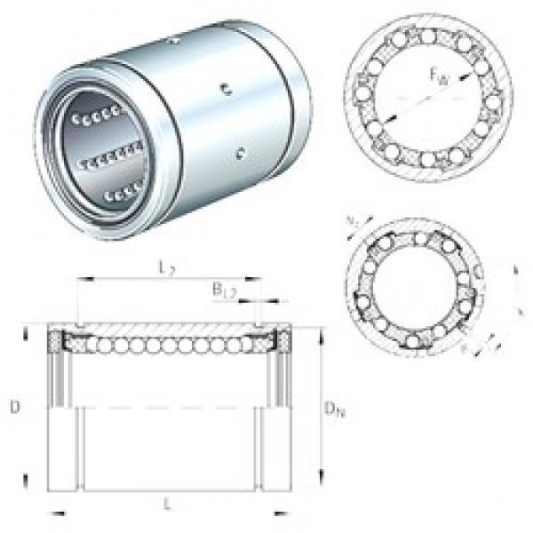 INA KB12-PP-AS linear bearings #3 image