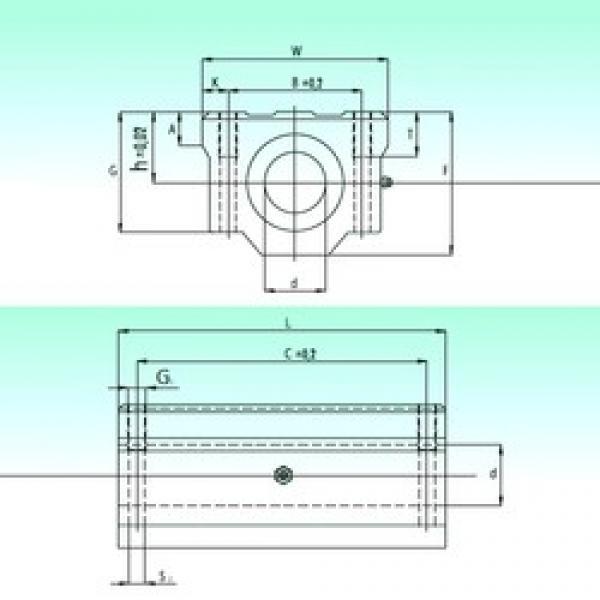 NBS SCW 40-UU AS linear bearings #3 image