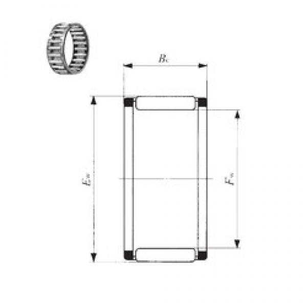 IKO KT 414835 needle roller bearings #3 image