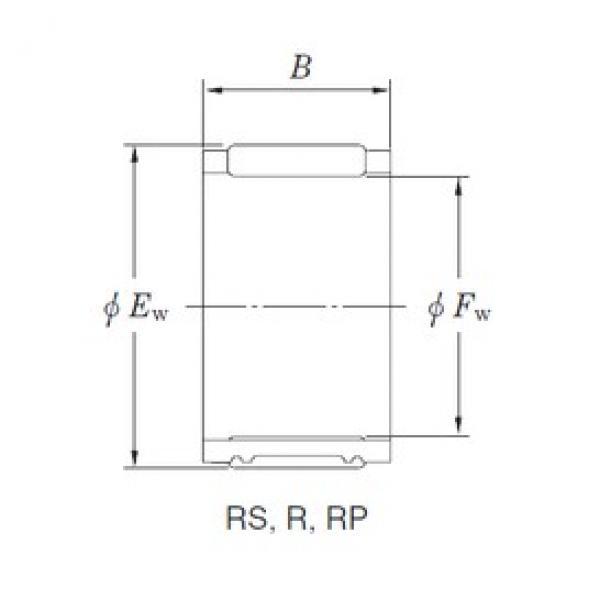 KOYO RPU455129AF needle roller bearings #3 image