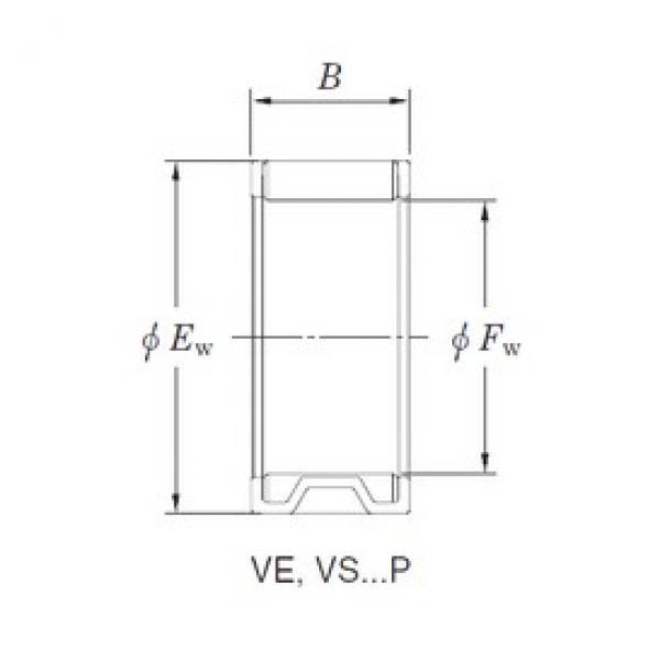 KOYO VE131810AB1 needle roller bearings #3 image