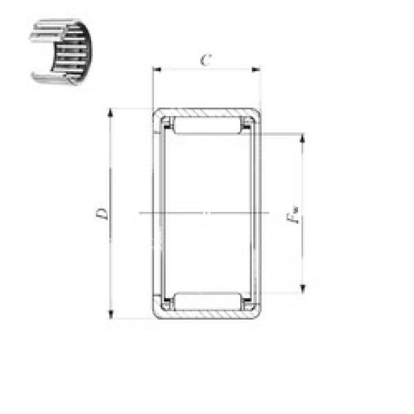 IKO BHA 1110 Z needle roller bearings #3 image