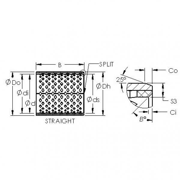 AST AST090 22560 plain bearings #3 image