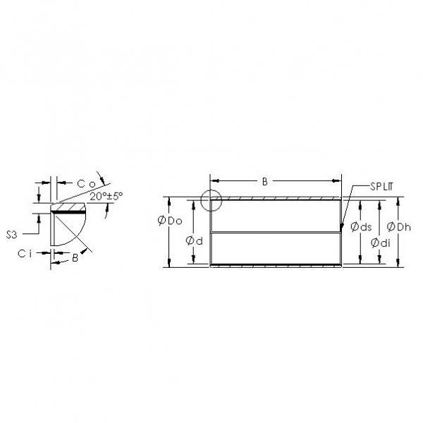 AST AST850BM 1620 plain bearings #3 image
