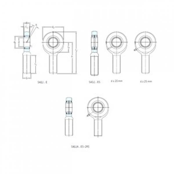 SKF SAL8E plain bearings #3 image