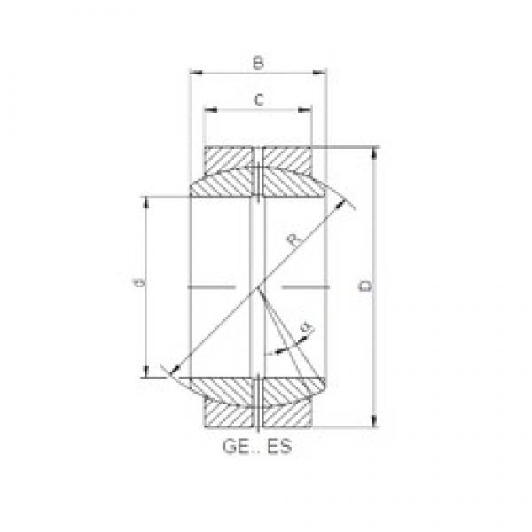32 mm x 50 mm x 22 mm  ISO GE 032/50 XES-2RS plain bearings #3 image