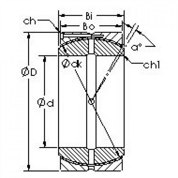AST GEH560HCS plain bearings #3 image