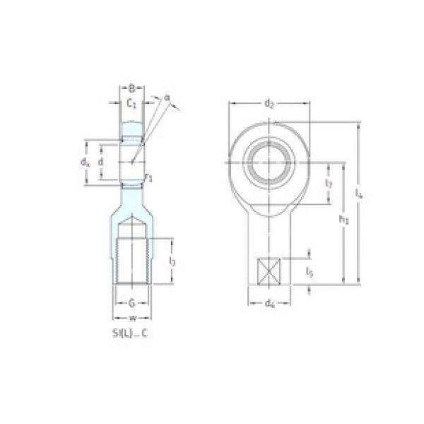 SKF SI10C plain bearings #3 image