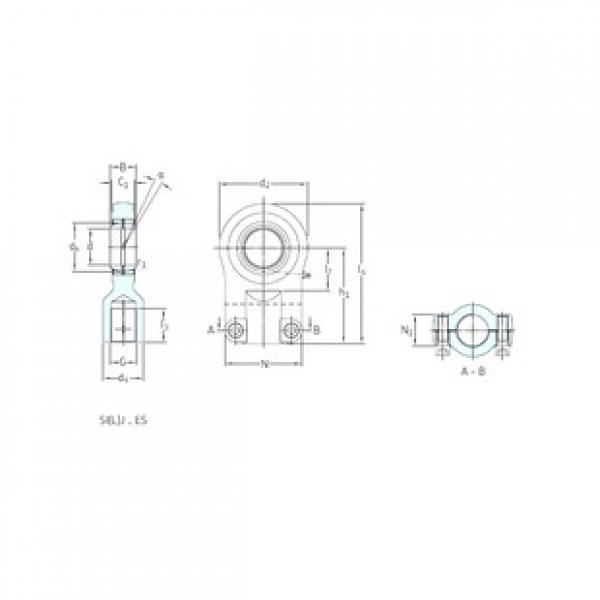SKF SIR40ES plain bearings #3 image