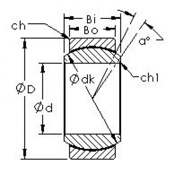 AST GEFZ25C plain bearings #3 image