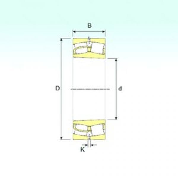 360 mm x 650 mm x 232 mm  ISB 23272 K spherical roller bearings #3 image