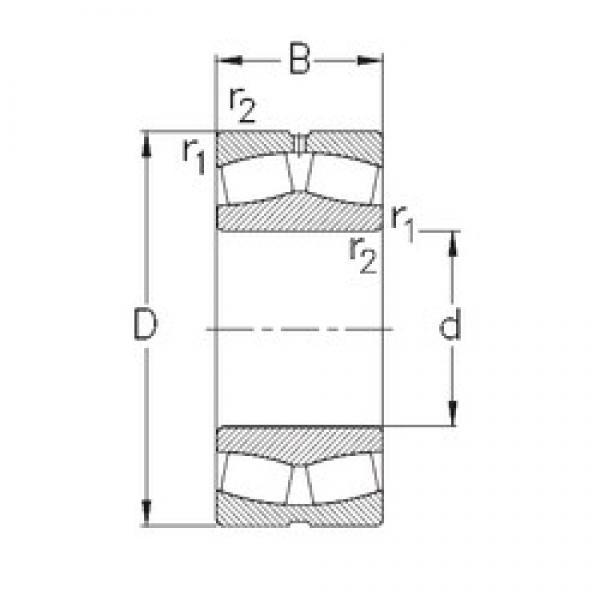 100 mm x 180 mm x 46 mm  NKE 22220-E-W33 spherical roller bearings #3 image