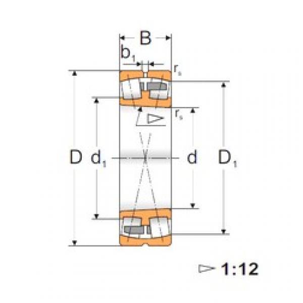 160 mm x 340 mm x 114 mm  FBJ 22332K spherical roller bearings #3 image