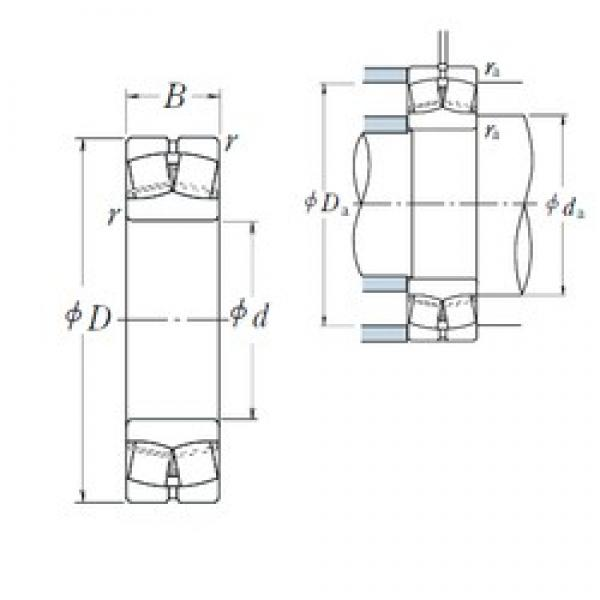 55 mm x 120 mm x 29 mm  NSK 21311EAE4 spherical roller bearings #3 image