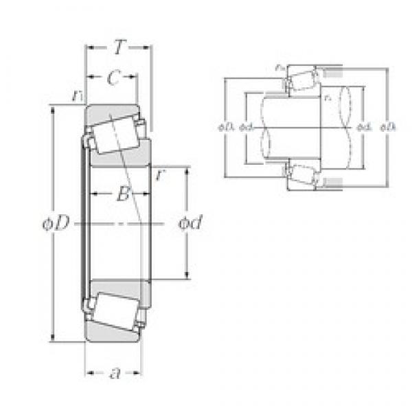41,275 mm x 90,488 mm x 40,386 mm  NTN 4T-4388/4335 tapered roller bearings #3 image