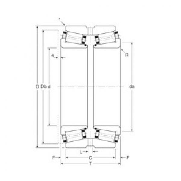 Gamet 113060/113101XG tapered roller bearings #3 image